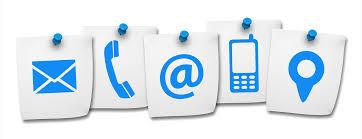 contacto de teléfono, email fincas